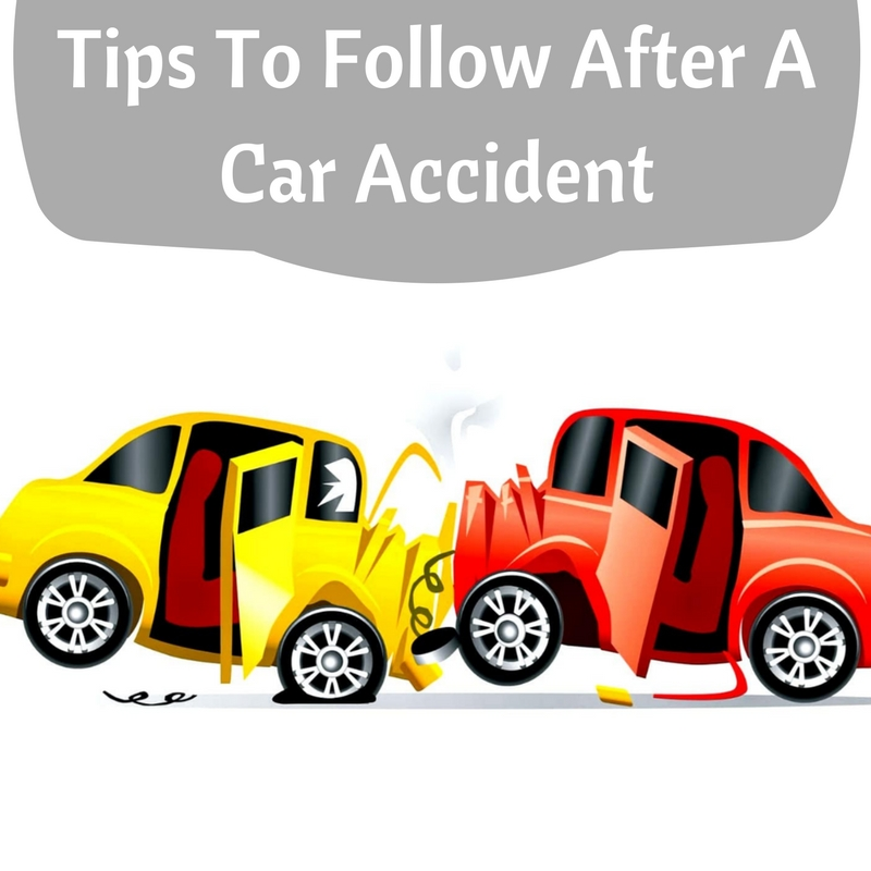 8 Tips You Need To Follow After A Car Accident